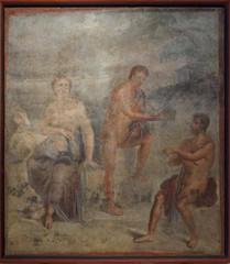 Fresco from Pompeii (Pompei)