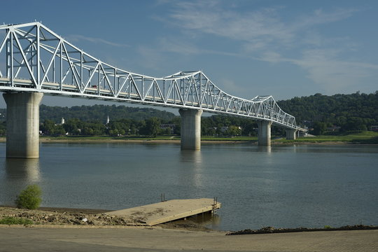 The Milton–Madison Bridge is a continuous truss bridge that connects Milton, Kentucky and Madison, Indiana