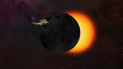 Wall Mural - Solar Eclipse