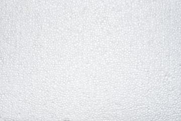 Polyfoam texture background close up