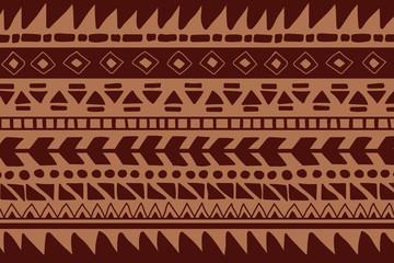 Fotobehang Boho Stijl Vector ethnic pattern. Hand drawn background