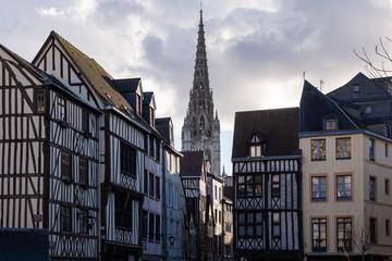Centre historique de Rouen, Normandie, France