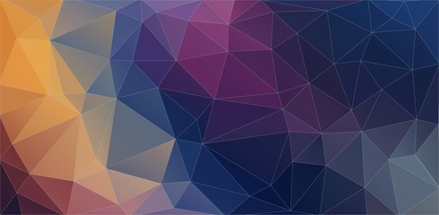 Creative old style background with triangle circle shapes for web design