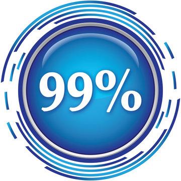 99 percent icon