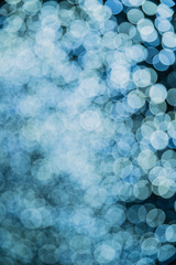 Christmas and Happy new year on blurred bokeh with dark background. abstract background with soft...