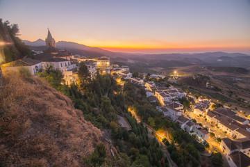 Cadres-photo bureau Cote Zahara de la Sierra in Grazalema mountains Cadiz province Andalusia Spain