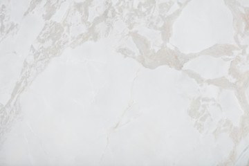 Tuinposter Marmer Natural marble background in exquisite white color for new design. High quality texture in extremely high resolution.