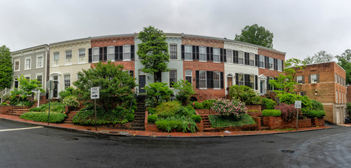 gerogetown dc houses view