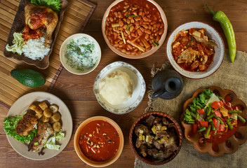 Congolese African cuisine, Fotomurales