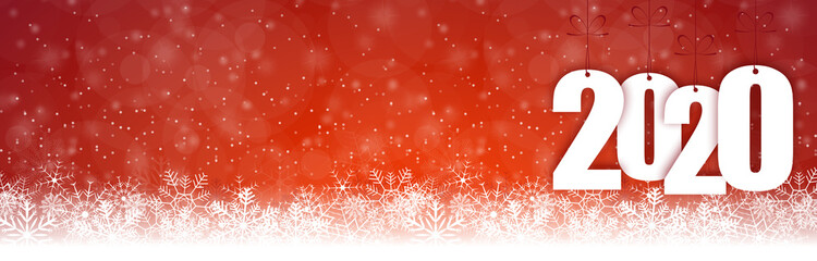 snow fall background for christmas and New Year 2020