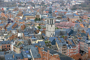 Namur city from the citadel