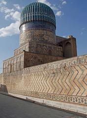 Bibi-Khanym Mosque in the uzbek city Samarkand
