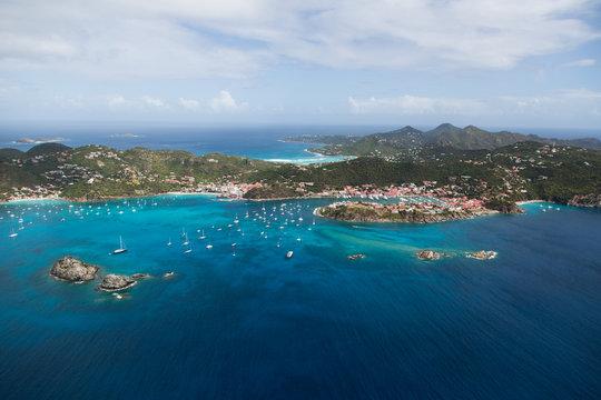 Image de l'île de St BArth