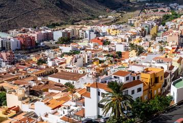 View on San Sebastián on La Gomera