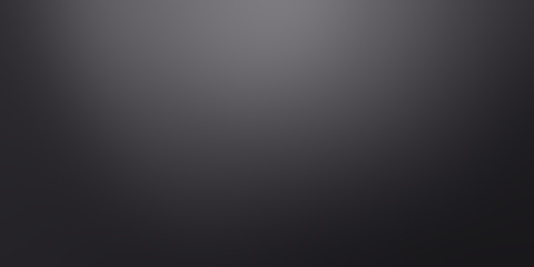 Fotobehang - black gradient abstract background / dark grey room studio background / for background or wallpaper your product montage