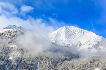 Snowcapped peak