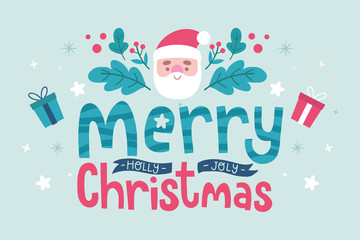 merry christmas cartoon wallpapers vector
