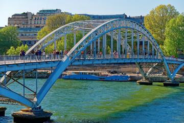 paris bridge over river senna