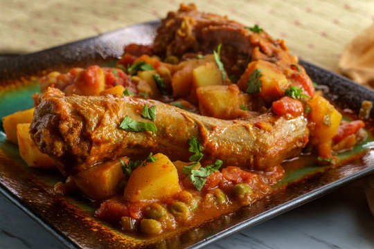 Indian Chicken Neck Curry