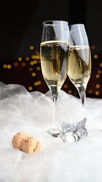 New year´s eve with champagne