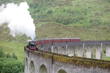 Glenfinnan Viadukt, Schottland