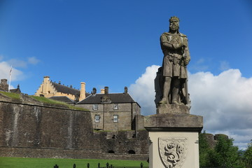 Robert the Bruce, Stirling Castle, Schottland