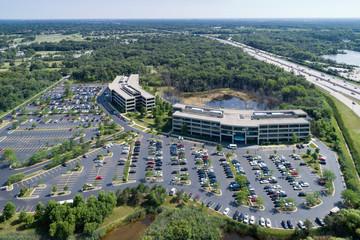 Office Park Expressway Aerial