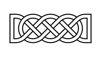 Celtic rectangular knot