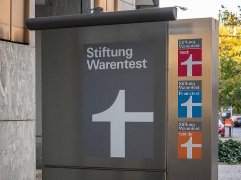 Headquarters of German Consumer Organisation Stiftung Warentest In Berlin