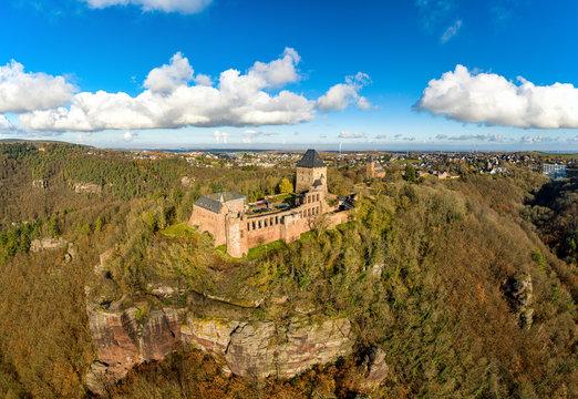 Nideggen Panorama mit Burg