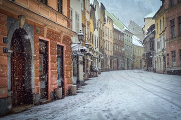 The Romantic Cold Winter