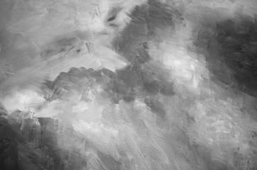 Fototapeta Abstract gray watercolor background texture obraz