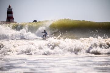 Surfing in Portugal, Algarve