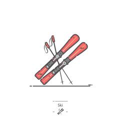 Ski - Line color icon