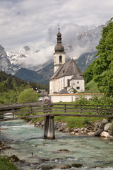 St. Sebastian church in Ramsau