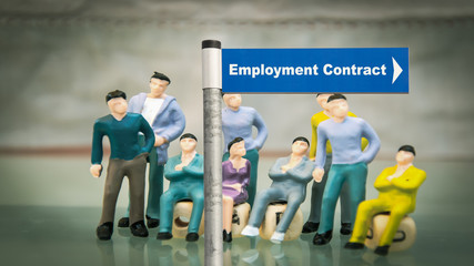 Street Sign EMPLOYMENT CONTRACT