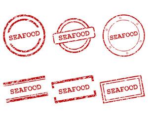 Seafood Stempel