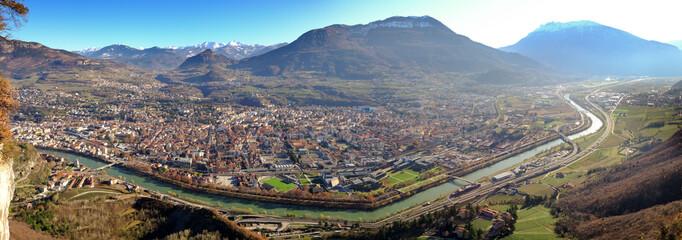 Panorama dalla città di Trento