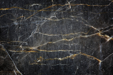 Yellow and white Patterned of dark gray marble (Gold Russia) texture background for product design Wall mural