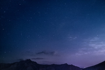 night sky and moon Fotomurales