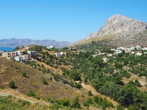 Kalymnos - im Westen der Insel
