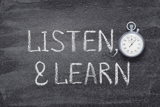 listen and learn watch