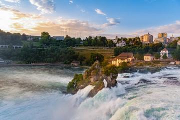 Rhine Falls in Neuhausen