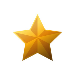 Star shape design, Decoration award success style web rating and quality theme Vector illustration