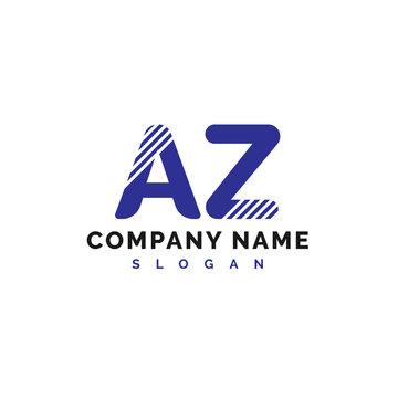 AZ Logo Design. AZ Letter Logo Icon Vector Illustration - Vector