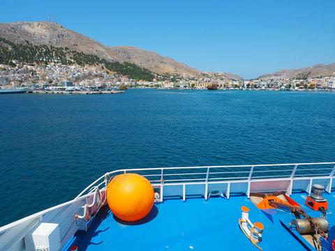 Kalymnos - auf der Fähre