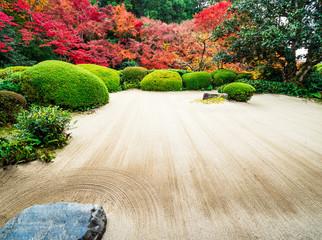 秋の京都 詩仙堂