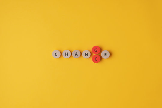 Changing the word Change into Chance
