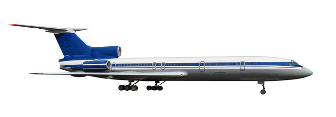Scale model of old Tu-154