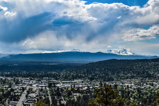 Overlooking Bend Oregon
